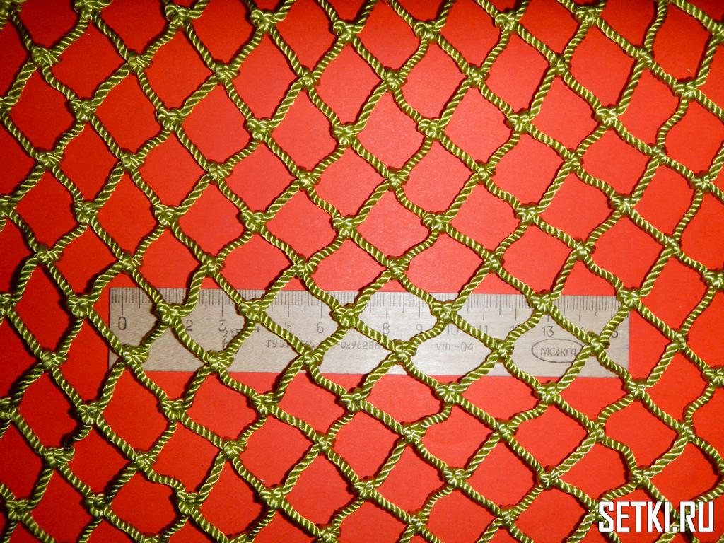 20mm 25mm green - Страховочные сети